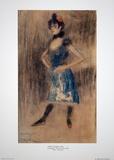 Woman Impressão colecionável por Pablo Picasso