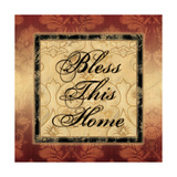 Bless This Home Pôsters por Piper Ballantyne