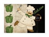 Chef Delizioso Posters by Piper Ballantyne
