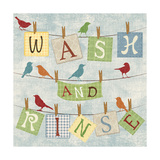 Wash and Rinse Affiches par Piper Ballantyne