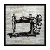 Vintage Sewing Machine Affiches par Piper Ballantyne
