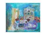 Seaside Kitchen Giclée-Druck von Sylvia Paul