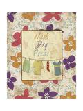 Wash Dry Press Posters van Piper Ballantyne