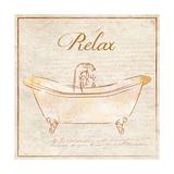 Romantic Bath Relax Posters par Piper Ballantyne