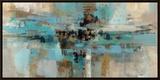 Morning Fjord Framed Canvas Print by Silvia Vassileva