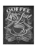 Wise Coffee 3 Giclée-Premiumdruck von Dorothea Taylor