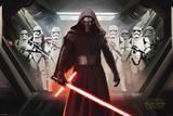 Star Wars- Kylo Ren And Stormtroopers Kunstdrucke