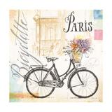 Bicyclette Sketchbook Posters av Angela Staehling