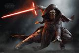 Star Wars- Kylo Ren Crouch Kunstdrucke