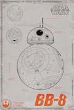 Star Wars- Bb-8 Plakater