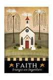 Primitive Faith Kunstdrucke von Jennifer Pugh