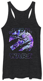 Women's: Star Wars The Force Awakens- Galactic Tank Top レディースタンクトップ