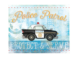 Police Prints by Jennifer Pugh