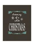 White Christmas Prints by Jo Moulton