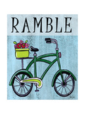 Bike-Ramble Posters par Shanni Welsh