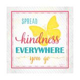 Spread Kindness Giclée-Premiumdruck von Jennifer Pugh