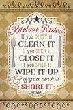 Kitchen Rules Affiches par Jennifer Pugh