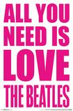 The Beatles - Love Pôsters