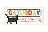 Caturday Is a Special Pôsteres por Jennifer Pugh