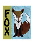 Woodland Fox Affiche par Shanni Welsh