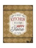 A Messy Kitchen Julisteet tekijänä Jennifer Pugh
