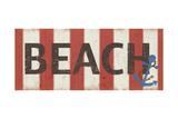 Praia Poster por Anna Quach
