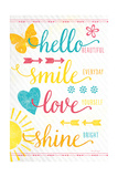 Shine Bright Poster von Jennifer Pugh
