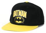 Batman- Wordmark Logo Snapback Chapéu