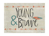 Young and Brave Giclée-Premiumdruck von Katie Doucette