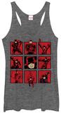 Juniors Tank Top: Daredevil- Panels Damestanktops
