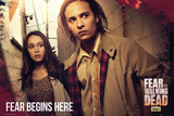 Fear The Walking Dead Fear Starts Here Posters