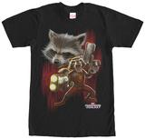 Rocket Racoon- Twisted Rocket Shirts