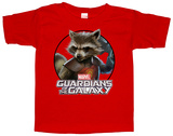 Toddler: Rocket Racoon- Dangerous Animal Camisetas