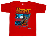 Toddler: Rocket Racoon- Rocket Diagram T-Shirts
