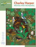 Charley Harper: Woodland Wonders 1000 Piece Puzzle Jigsaw Puzzle