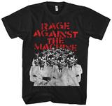 Rage Against the Machine- Skeleton Heads T-Shirts