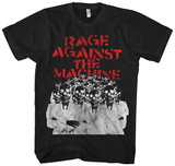 Rage Against the Machine- Skeleton Heads Magliette