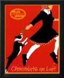 Chocolate ao leite, em francês Posters por Johanna Kriesel