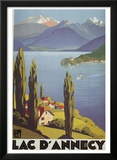 Lac Dannecy Prints by Roger Broders