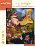 Tino Rodriguez: Xochipilli's Ecstatic Universe 1000 Piece Puzzle Quebra-cabeça