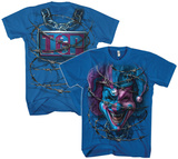 Insane Clown Posse- Barbed Jester (Front/Back) T-Shirts