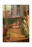 The Dream of Saint Ursula, 1495 Giclée-tryk af Vittore Carpaccio