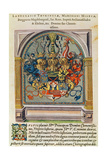Coat of Arms, from 'Brevis Narratio..' Giclee Print by Jacques Le Moyne