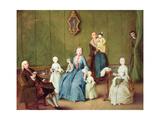 Venetian Family Giclee Print by Pietro Longhi