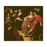 Ruggiero and Alcina, or the Reunion of the Newly-Weds Giclée-tryk af Rutilio Manetti