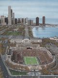 Chicago's Soldier Field Giclee-trykk av Darryl Vlasak