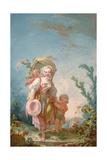 The Shepherdess, 1748-52 Giclee Print by Jean-Honore Fragonard