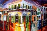 Old Absinth House Art by Diane Millsap