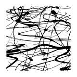 Splatter Paint I Poster von Ricki Mountain