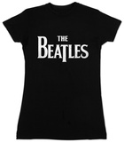 Women's: The Beatles- Logo T-skjorter